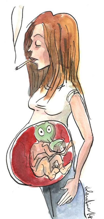 danni fumo in gravidanza