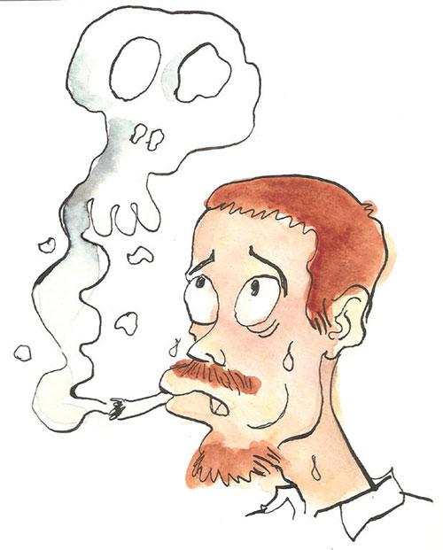 Il fumo smesso molto male mi sento