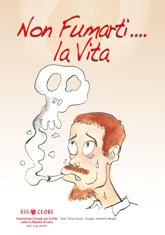 copertina pdf Non Fumarti la Vita